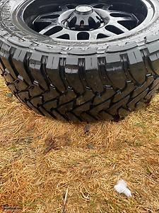 Aluminum rims and tires