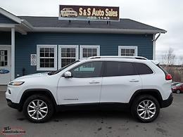 Good Mileage - 2016 Jeep Cherokee Limited