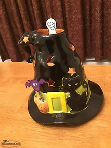 "Partylite ""Witches Hat"" tea lite holder"