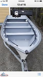 17'open boat for sale
