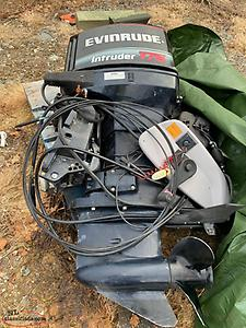 Evinrude 175 intruder with controls