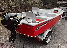 ALUMINUM BOAT PKG 14-16FT WANTED
