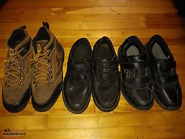 3 Pairs of 10 Wide Men's Footware