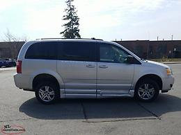 2010 Dodge Grand Caravan Wheel Chair accessible conversion vans. Two Available!