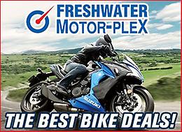 Freshwater MotorPlex: Suzuki Bike Deals on NOW!