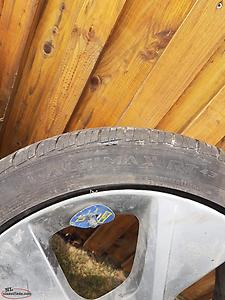 225 45R18 Tires and rims