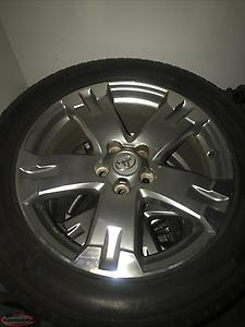 Toyota RAV 4 rims and tires for sale ( 18 inch )