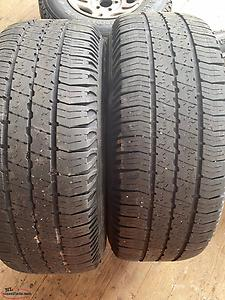 4 Tires and Rims 235/75R15