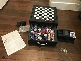 Poker/Ches/Checkers Professional Board Set