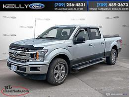 2018 Ford F-150 4x4 SuperCab XTR 5.0L 6.5' box