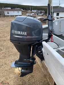22ft Boat, Yamaha motor, & Trailer