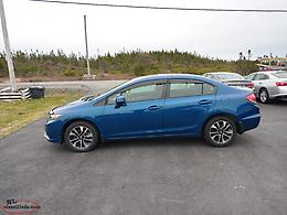 2013 Honda civic EX 4 door 5 speed 130.000 km