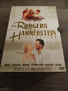 The Rodgers and Hammerstein Collection (DVD, 2000, 6-Disc Set). Great Condition