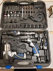 mastercraft air tool kit