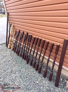 Railing, Posts and Spindles for sale