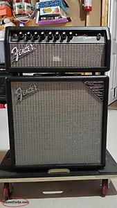 Fender Amplifier and Cabinet