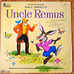 "Walt Disney's Uncle Remus Sound track LP from ""The Song of the South Movie"""