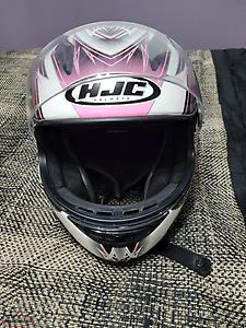 WOMENS HJC MOTORCYCLE HELMET
