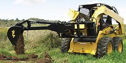HLA Big Arm Backhoe Skidsteer Attachment