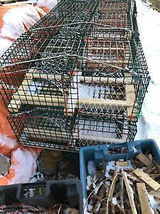 Wire lobster traps