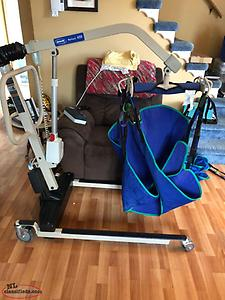 Patient power lift/ and wheelchair