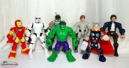 Star Wars Hero Mashers Figures and Marvel Figures