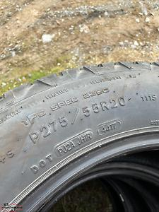 275/55/20 tires