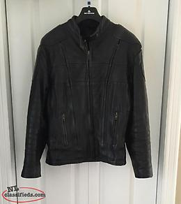 Ladies Motorcycle Leather Jacket and Chaps